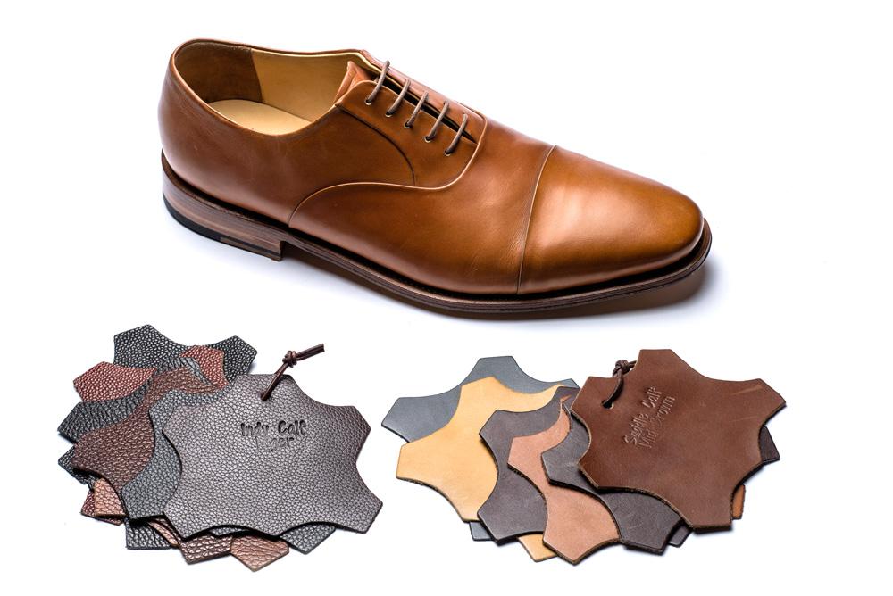 Masskonfektion - Massgeschneiderter Schuh mit Lederauswahl